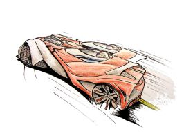 G D Race Speedster concept by grote-design