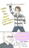 HP: I KILLED YOUR SNAKE by Randomsplashes