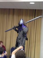 Artorias cosplay at Jafax. (ME) by Lycanis2012