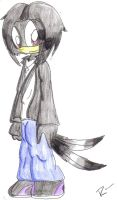 .:gabril the crow:. by raven-the-hedgehog