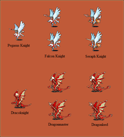 Generic Fire Emblem Sprites 3 by Great-Aether