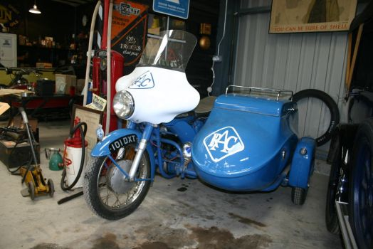 RAC BIKE and SIDECAR by Sceptre63