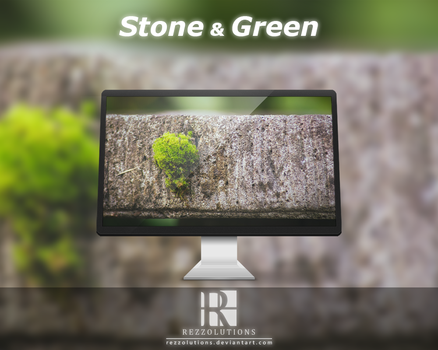 Stone and Green by Rezzolutions