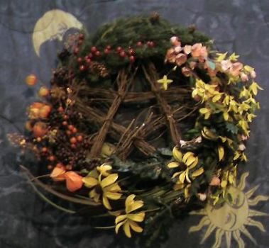 Pentacle of the seasons by Aigidh