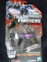 Transformers: Fall Of Cybertron Deluxe Shockwave by gamera68