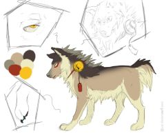 dog design by azzai