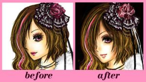 Ana - Before after by sorenka