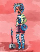 Ramona Flowers by jakeliven