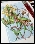 The Sacred Mantis by DannyFilth01