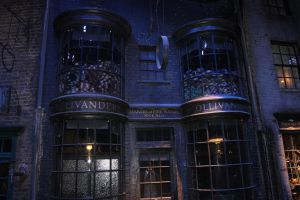 Diagon Alley: Ollivander's by Skarkdahn