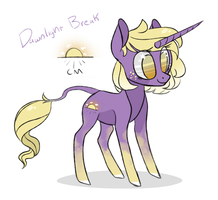 Unicorn Adopt Auction [CLOSED] Dawnlight by JellyBeanBullet