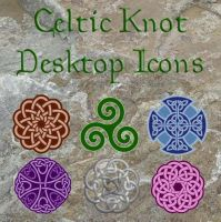 Celtic Knot Icons by shiftercat