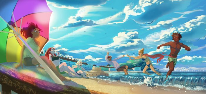 BeAch PArtY by BabaKinkin