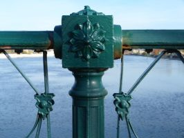 6th Street Bridge Railing by historicbridges