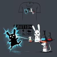 Woot Shirt - Caution by fablefire