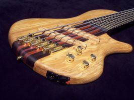 6-string bass build by The-Insane