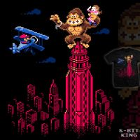 8-Bit King - tee by InfinityWave