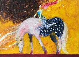 Appaloosa blues by andreuccettiart