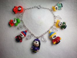 South Park Charm Bracelet by stevoluvmunchkin