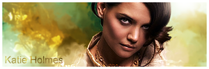 Katie Holmes by Robbanmurray
