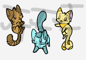Cat Adoptables [OPEN] by JackTweeg