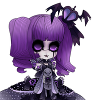 Schadenfreude the sweet princess of dread by Spookie-Sweets