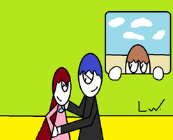 MY FIRST JERZA PIC!! guest staring Lenny by LRW0077