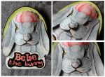 Commissions: 3D - Portrait - Bebe the Bunny by SaQe