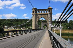 Bridge over the Loire at Langeais ( 2 ) by UdoChristmann