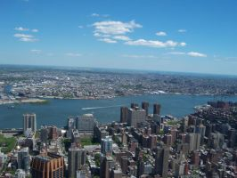 Empire State Building View by Lily-Gangsta
