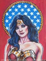 Wonder Woman by asamamoru
