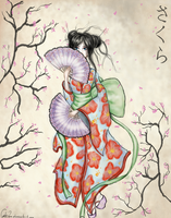 Little suffering under my kimono by Cata-Luu