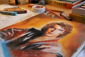 Anakin Skywalker - Star Wars - Preview by AuroraWienhold