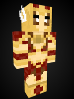 Leona Valkyre in Minecraft by Endette