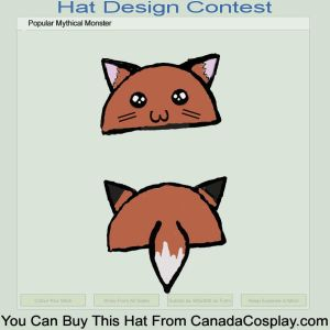Kitsune Hat Design II