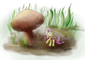 I Hate Mushrooms by Nedemai