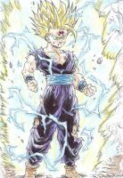 Gohan's Unlocked Power by delboysb91