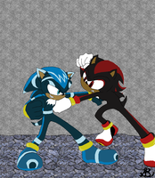 Shadow VS Zatch by Sprx-77AntauriGibson