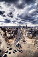 Paris from height by dandude666