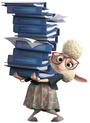 Bellwether Zootopia by Pixargirl