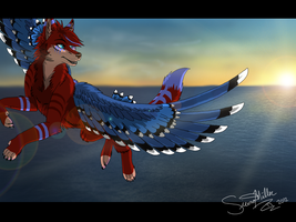 Oceanic Sunrise by WickedSpecter