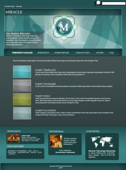 Miracle Web Design by clouseth