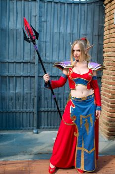 wow blood elf cosplay by Taiychan