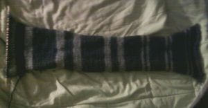 Ravenclaw Scarf WIP by Creativity-Squared