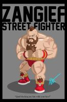Zangief by Littl-Big-Kahuna