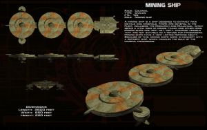 Mining Ship ortho by unusualsuspex