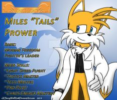 SL/SLC Profile NPC Tails Prower by xXStoryWolfXx