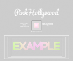 |PhotoshopArchives|Pink Hollywood Style by HeartitSoul