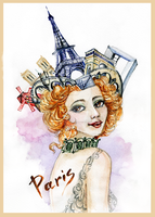 Spirit of the city - Paris by Redilion