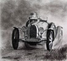 Old Racer by mbeckett